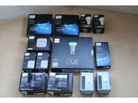 Various genuine Philips Hues Boxes - Boxes only
