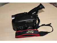 JVC Compact VHS program manager with Power Adaptor and Battery only £20-00