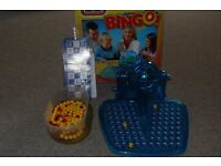 Bingo game with cards, counters etc - great for helping kids who are learning about numbers
