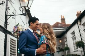 Prices from £150 Flexible Packages - Wedding, Events Photography, Photographer Weybridge Guildford