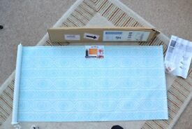 Window Roller Blind by WEB Design * Blue & White * Brand New - Not Used