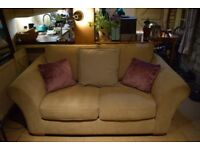 Next Sofa & Snuggle Seat - Very good condition - Non Smokers - No Pets