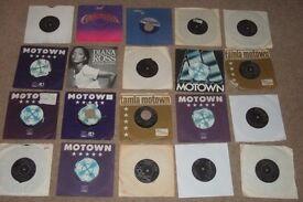 "20 x 7"" Tamla / Motown Vinyl Records Collection. JUKEBOX!!"