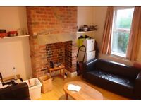 A large, furnished bedroom in a house for four professional people, rent includes Council Tax..