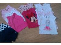 Bundle of girls clothes 11 Items 2-3 years.