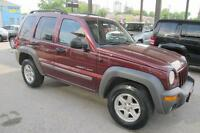 2002 Jeep Liberty 4x4 SUV 205,000 automatic Not saftied $2900