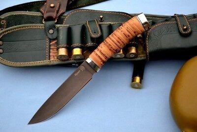 "Handmade Custom CAST BULAT survival ethnic Knife ""Lynx"" (Lifetime best steel)"