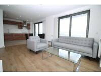 ** STUNNING CANAL VIEW, LUXURY 2 BED 2 BATH APARTMENT, BALCONY, STEPNEY GREEN, MILE END, E1 - AW