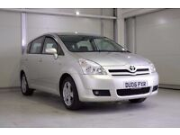 2006 Toyota Corolla Verso 1.8 VVT-i T3 5dr, 7 Seater, Full Service History