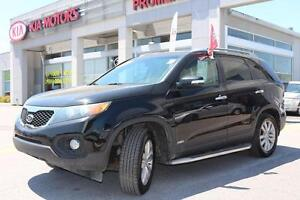 2011 Kia Sorento EX LUXURY  V6 AWD Leather and Heated Seats