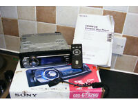 Sony CDX-GT929UCompact Disc Player