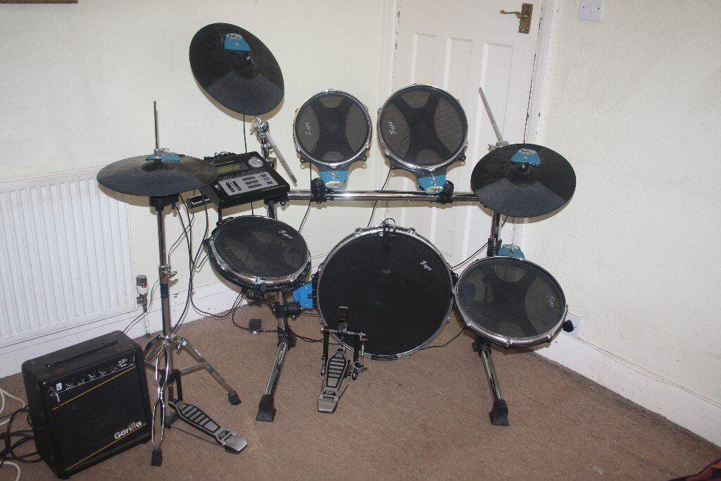 Hi Hat Cymbals Gumtree Brisbane : traps e450 electronic full size drum kit in ealing london gumtree ~ Russianpoet.info Haus und Dekorationen