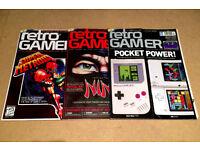 Retro Gamer Magazine - Nintendo Handheld, Ninja Gaiden, Super Metroid Covers - #63, #64, #65 - Used