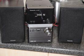 PANASONIC DAB RADIO/USB/CD/IPOD DOCK/70W CAN BE SEEN WORKING