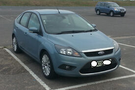 2009 Ford Focus Titanium 1.8 TDCi 43K Metallic paint One owner Servicing by Ford