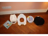 Complete Potty Training Set - Pourty Potty, Training Seat, 2-in-1 Potette Plus and a Piddle Pad