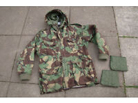 Professionally Modified - British Army 'Falklands' Issue DPM Cold Weather Windproof Parka