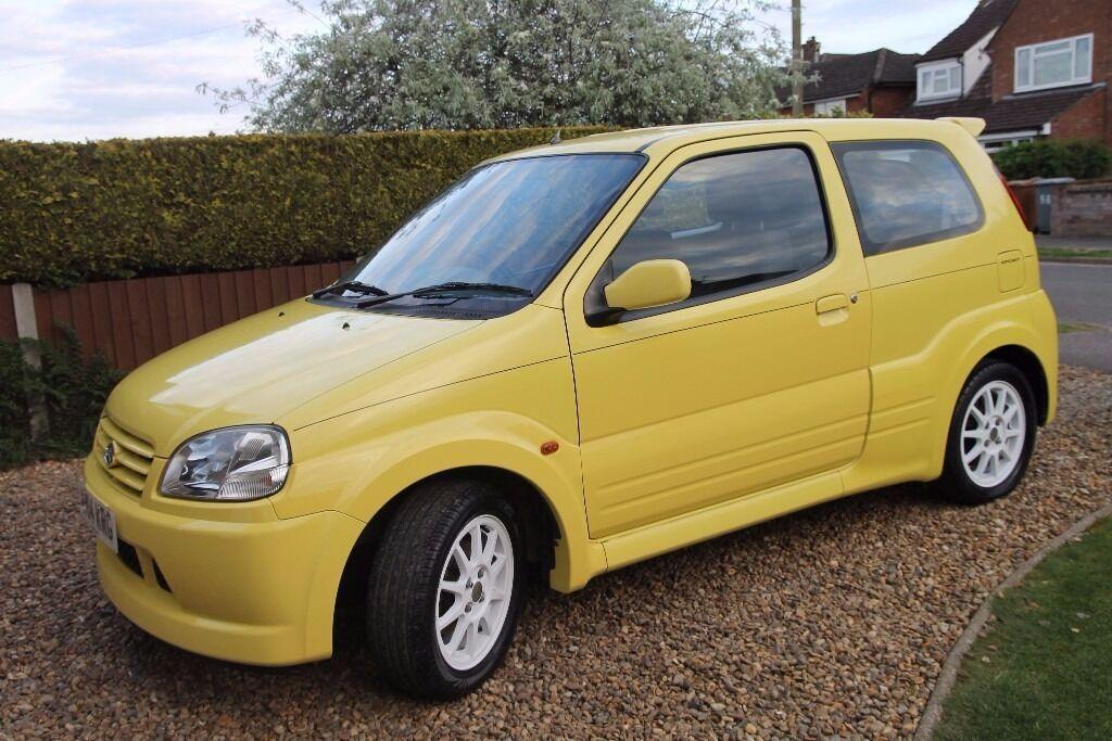 suzuki ignis sport 1 5 vvt 3 door hatchback 2004 yellow. Black Bedroom Furniture Sets. Home Design Ideas