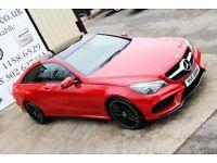 LATE 2013 MERCEDES E350 BLUETEC AMG SPORT AUTO 252 BHP COUPE *NIGHT ED SPEC* (FINANCE & WARRANTY)