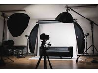 FULLY EQUIPPED PHOTOGRAPHY STUDIO FOR HIRE - Belper Studio
