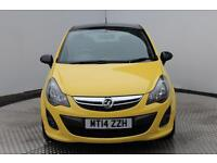 Vauxhall Corsa LIMITED EDITION (yellow) 2014-05-23