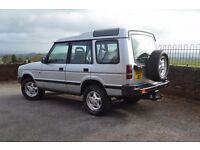 1998 Landrover Discovery 300TDi manual, 136k - Non Sunroof, 7 seat 12M MOT. Solid Disco ready to go!