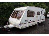 Swift Celeste 17/5 Cris-Reg 2004 5 Berth Caravan + Full Awning + Porch Awning