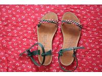 New Greek handmade sandals size 6