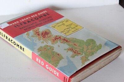 ILFRACOMBE WARD LOCK'S RED GUIDE QUINDICESIMA EDIZIONE X MOTOCICLISTI