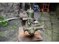Stewart Turner P5LY Petrol Engine. Bristol