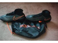 Nike Magista Obra II SG-Pro football boots size UK 8