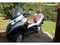Piaggio MP3 300 LT Business Scooter. Very low mileage and as new condition.