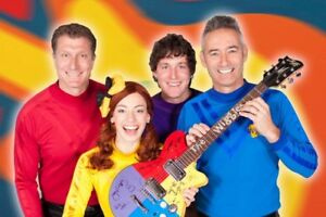 3 Tickets to The Wiggles Sep 25 6:30PM Showing
