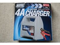 Maypole 4A Battery Charger 12V