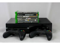 XboX One 500GB - Black Console - model 1540 - 6 Games/Kinect/2 Controllers