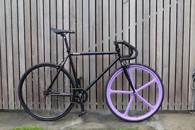 Special Offer GOKU CYCLES Steel Frame Single speed road bike TRACK bike fixed gear fixie bike F11