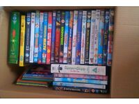 Selection of Children`s DVDs includes limited edition Peter Pan/Tinkerbell