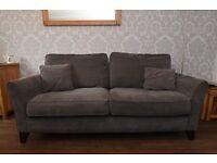 Large 2 seater 'Jasmine' sofa - Oak Furniature Land