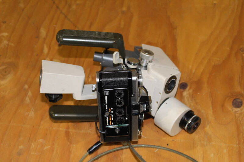 Olympus Microscope HEAD CAMERA OM-2