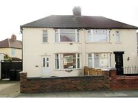 3 Rogers Ave, Bootle, 3 bed semi detached property with GCH & DG. DSS applicants welcome