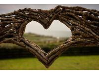 Wedding Arch Handfasting Arch Garden Arbour Bespoke Rustic