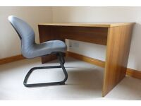 Sturdy desk and office chair