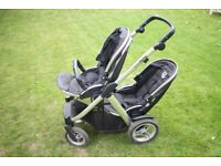 Babystyle Oyster Max Double Tandem Twin Pushchair