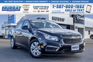 2016 Chevrolet Cruze LT **Great Savings! Certified!**