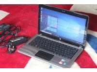 "HP Pavilion DV3-4050ea 13.3"" Laptop Intel i5-450M 4GB 500GB Windows 10 & MS Office 2016"