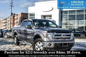 2014 Ford F-150 XLT CREWCAB 4x4 5.5 BED - BLUETOOTH - TRAILER TO