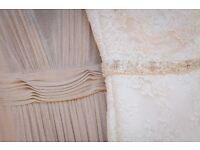 MORI LEE 1901 SIZE 8-10 WEDDING DRESS LIKE NEW