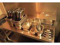 Stainless Steel & Polycarbonate Gastronorm, Tupperware, Food Storage, Milk Trolleys