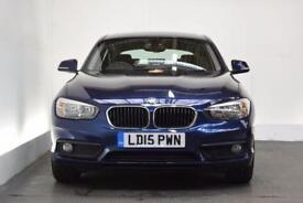 BMW 1 SERIES 1.6 118I SE 5d 134 BHP (blue) 2015