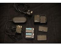 Canon charger / batteries etc for 5D, 50D, 40D, 30D, 20D, 10D, D60, D30, Digital Rebel